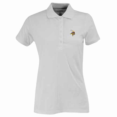 Minnesota Vikings Womens Spark Polo (Color: White)
