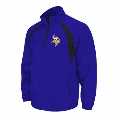 Minnesota Vikings YOUTH Post Game 1/4 Zip Fleece