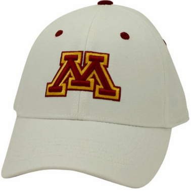 Minnesota White Premium FlexFit Hat