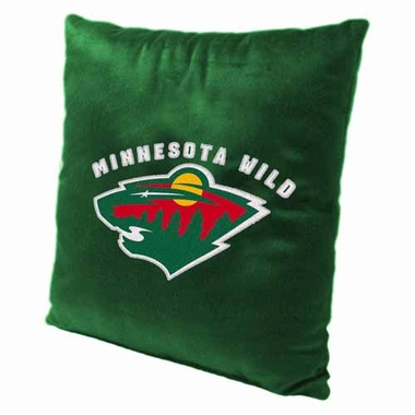 Minnesota Wild 15 Inch Applique Pillow