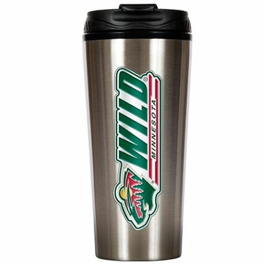 Minnesota Wild 16 oz. Thermo Travel Tumbler