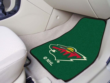 Minnesota Wild 2 Piece Car Mats