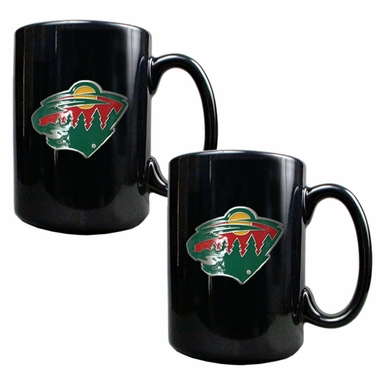 Minnesota Wild 2 Piece Coffee Mug Set