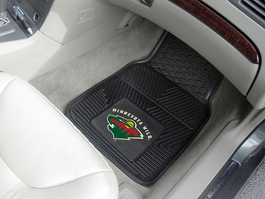 Minnesota Wild 2 Piece Heavy Duty Vinyl Car Mats