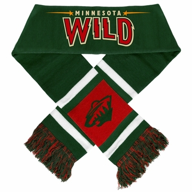 Minnesota Wild 2012 Team Stripe Knit Scarf