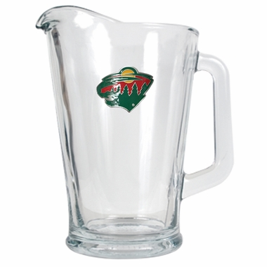 Minnesota Wild 60 oz Glass Pitcher