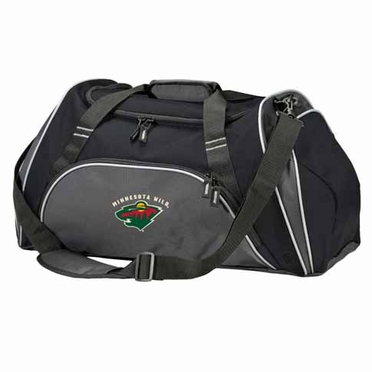 Minnesota Wild Action Duffle (Color: Black)