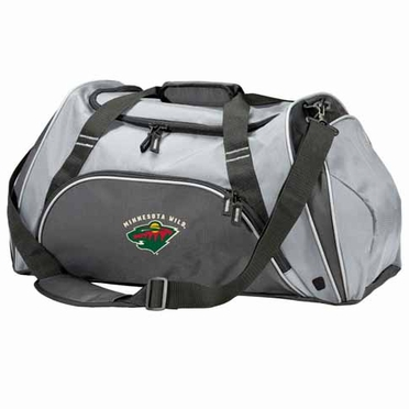 Minnesota Wild Action Duffle (Color: Grey)