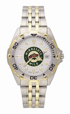 Minnesota Wild All Star Mens (Steel Band) Watch
