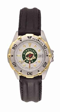 Minnesota Wild All Star Womens (Leather Band) Watch