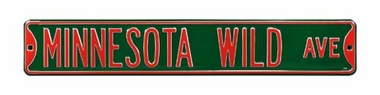 Minnesota Wild Ave Street Sign