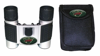 Minnesota Wild Binoculars and Case