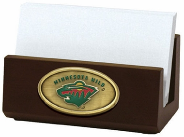 Minnesota Wild Business Card Holder