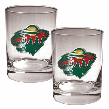 Minnesota Wild Double Rocks Set