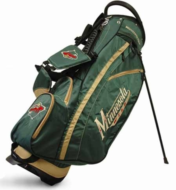 Minnesota Wild Fairway Stand Bag