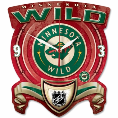 Minnesota Wild High Definition Wall Clock