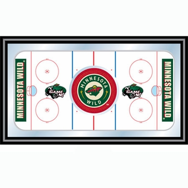 Minnesota Wild Hockey Bar Mirror