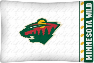 Minnesota Wild Individual Pillowcase