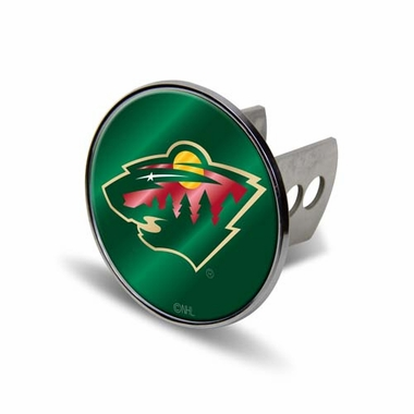 Minnesota Wild Laser Hitch Cover