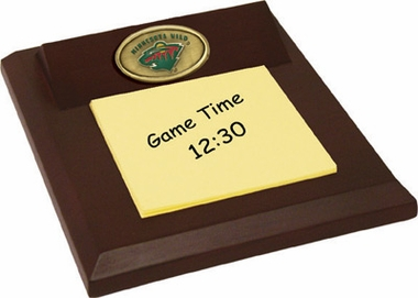 Minnesota Wild Memo Pad Holder