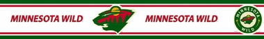 Minnesota Wild Peel and Stick Wallpaper Border