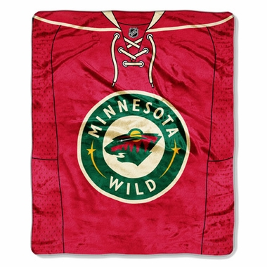Minnesota Wild Plush Blanket