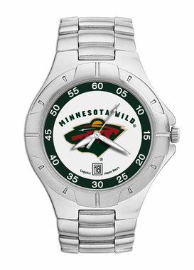 Minnesota Wild Pro II Men's Stainless Steel Watch