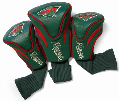 Minnesota Wild Set of Three Contour Headcovers