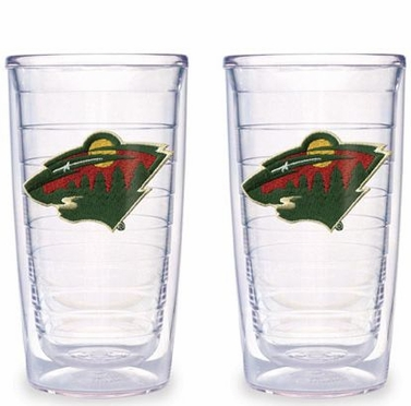 Minnesota Wild Set of TWO 16 oz. Tervis Tumblers