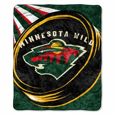 Minnesota Wild Super-Soft Sherpa Blanket