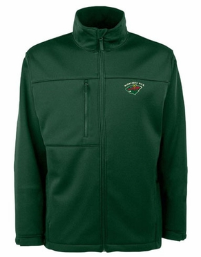 Minnesota Wild Mens Traverse Jacket (Team Color: Green)
