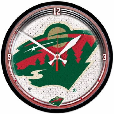 Minnesota Wild Wall Clock
