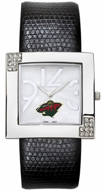 Minnesota Wild Women's Glamour Watch