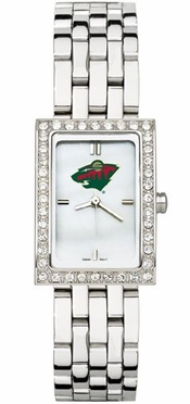 Minnesota Wild Women's Steel Band Allure Watch