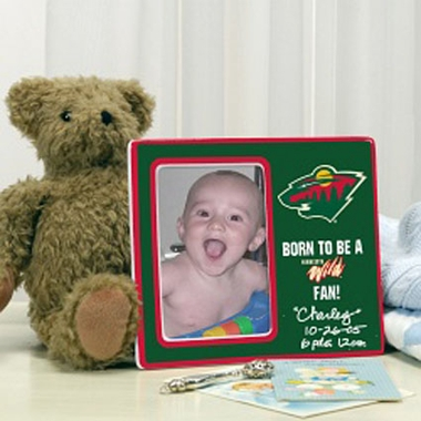 Minnesota Wild Youth Picture Frame
