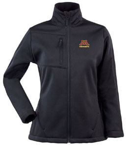Minnesota Womens Traverse Jacket (Team Color: Black) - Large
