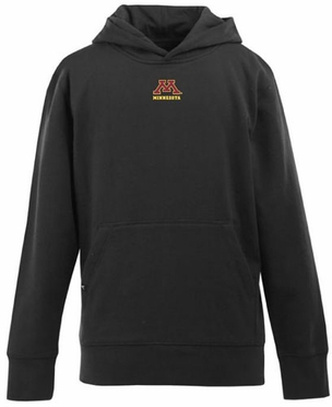 Minnesota YOUTH Boys Signature Hooded Sweatshirt (Team Color: Black)