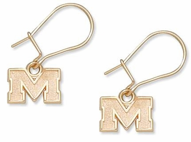 Mississippi 10K Gold Post or Dangle Earrings