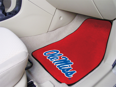 Mississippi 2 Piece Car Mats