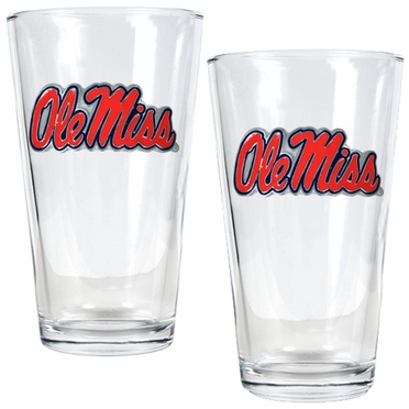 Mississippi 2 Piece Pint Glass Set