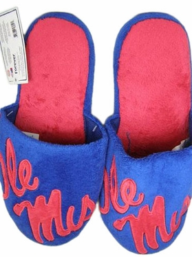 Mississippi 2011 Big Logo Hard Sole Slippers (Two Tone)