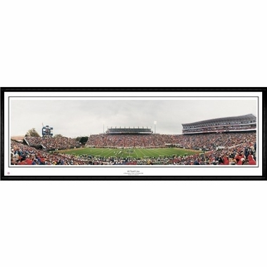 Mississippi 44 Yard Line Framed Panoramic Print