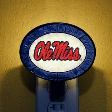 Mississippi Art Glass Night Light