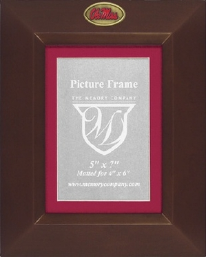 Mississippi BROWN Portrait Picture Frame