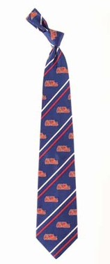 Mississippi Cambridge Woven Silk Necktie