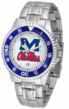 Mississippi Competitor Men's Steel Band Watch