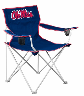 Mississippi Deluxe Adult Folding Logo Chair