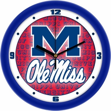 Mississippi Dimension Wall Clock