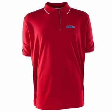 Mississippi Mens Elite Polo Shirt (Color: Red)