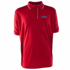 Mississippi Mens Elite Polo Shirt (Color: Red) - Medium